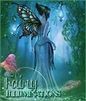Fairy Illuminations Backgrounds and Wings 2D Graphics Sveva