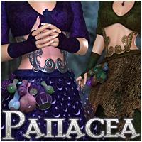 Panacea 3D Figure Essentials 3D Models WildDesigns