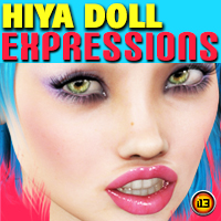 i13 Hiya Doll Expressions Poses/Expressions Themed ironman13