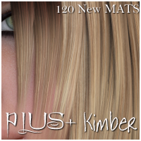 PLUS for Kimber Hair 3D Figure Essentials nikisatez