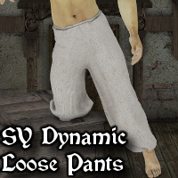 SY Dynamic Loose Pants 3D Figure Essentials SickleYield