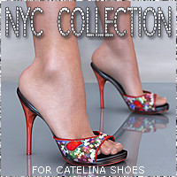 NYC for Catelina Shoes 3D Figure Essentials 3DSublimeProductions