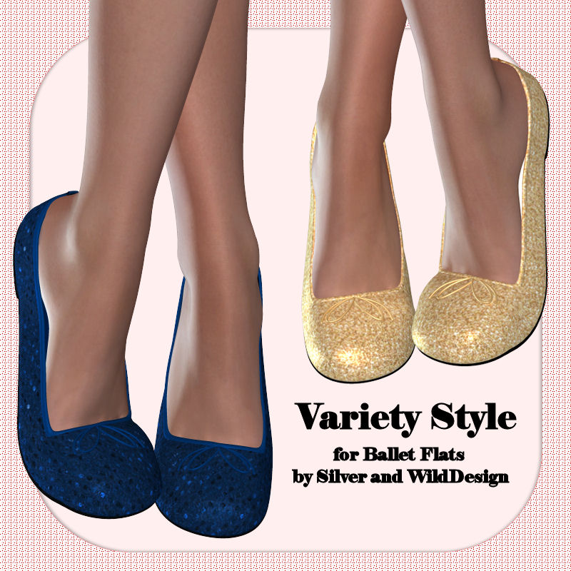 Variety Style for Ballet Flats