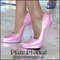 Hot Heels Software Footwear Themed Valea