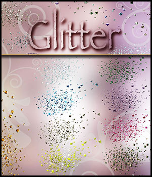 Glitter Styles 2D Graphics antje