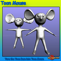 Toon Mouse Video Tutorial Tutorials : Learn 3D Fugazi1968