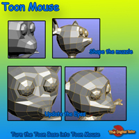 Toon Mouse Video Tutorial image 2