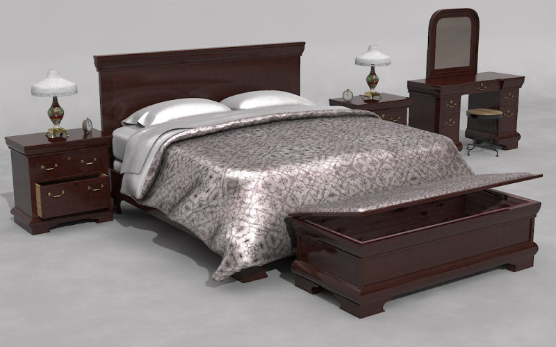 Furniture Set One, Bed