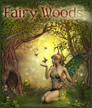 Fairy Woods 3D Models 3D Figure Assets 2D Graphics ilona