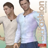 DZ StuartTop for M4H4Guy4 3D Figure Essentials dzheng