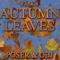 Flinks Autumn Leaves Props/Scenes/Architecture Themed Flink