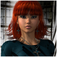 Emilee Hair V4, A4, G4, Alyson 2 Software Hair Themed RPublishing