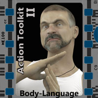Action Toolkit II for M4 Software Poses/Expressions 3-d-c