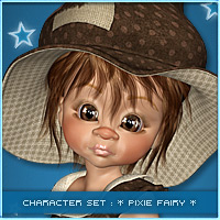 PixieFairy 3D Figure Essentials Leilana