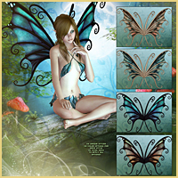 Flutterbye for FairyTails Wings image 1
