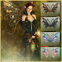 Flutterbye for FairyTails Wings image 2
