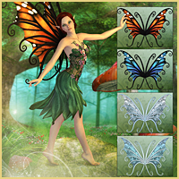 Flutterbye for FairyTails Wings image 3