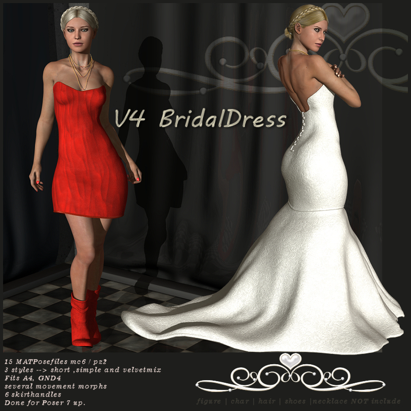 V4 BridalDress