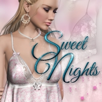 Sweet Nights 3D Models 3D Figure Essentials PandyGirl