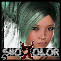 ShoXoloR for Reagan Hair Hair ShoxDesign
