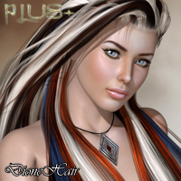PLUS for Dione Hair 3D Figure Essentials nikisatez