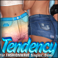 Tendency for FASHIONWAVE Singles: Demi by Shana