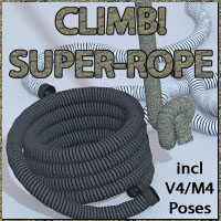 Climb - Superrope by 3-D-C 3D Models 3D Figure Assets 3-d-c