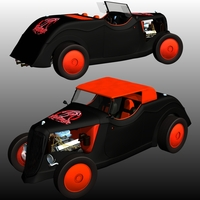 FORD 1934 NIGHTMARE 3D Models Nationale7