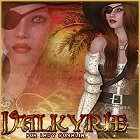Valkyrie for Lady Somalia 3D Figure Assets Sveva