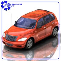 PT Cruiser (for Poser) Transportation Themed VanishingPoint