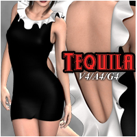 Tequila Dress V4-A4-G4 Clothing nikisatez