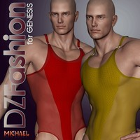 DZ BodJock 2 for Genesis 3D Figure Essentials dzheng