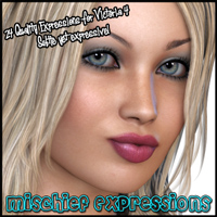 Mischief Expressions 3D Figure Essentials Freja