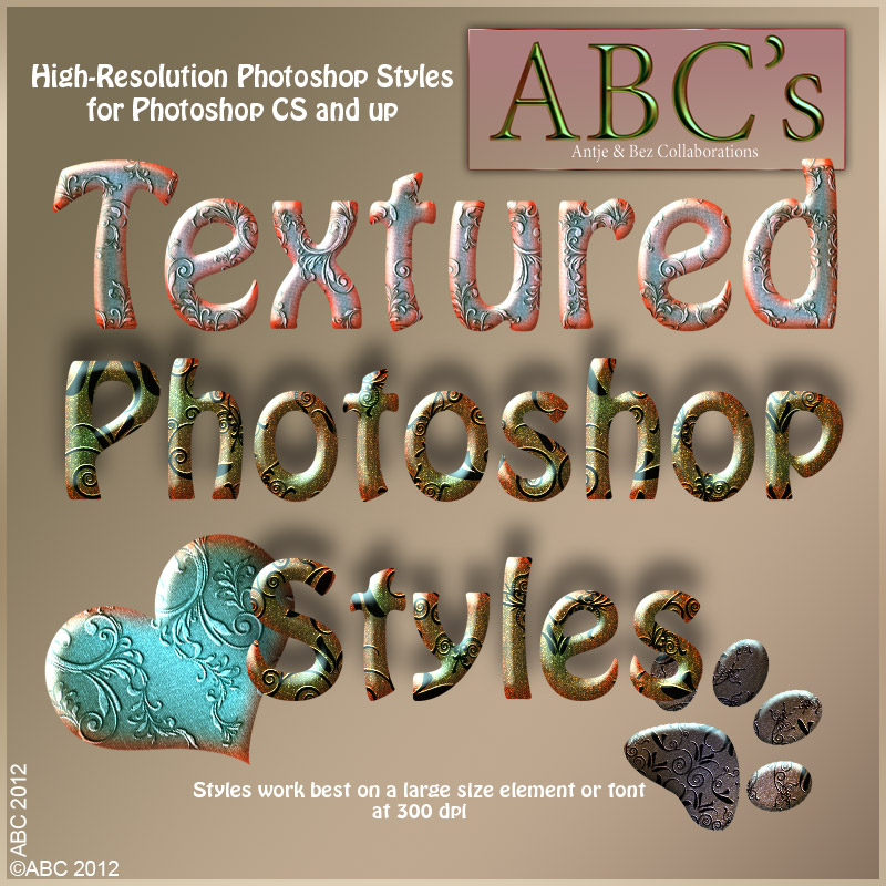 ABC-Textured Styles