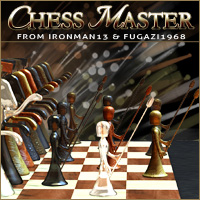 Chess MASTER 3D Models ironman13