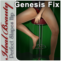Ideal Beauty: Hip for Genesis 3D Figure Essentials CJ-studio