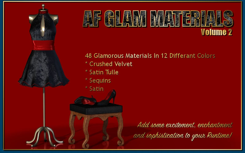 AF Glam Materials Volume 2
