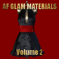 AF Glam Materials Volume 2 3D Figure Assets Angelsfury2004