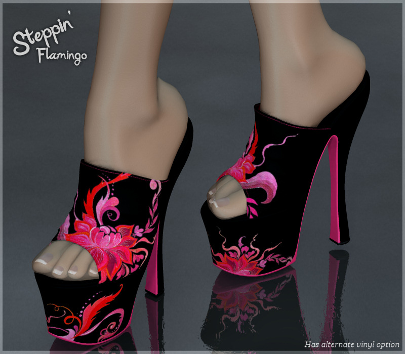 Steppin' : Flamingo