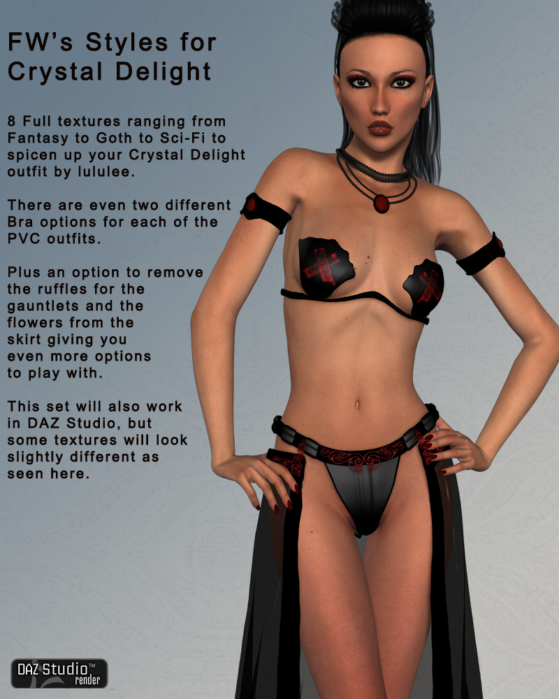 FWs Styles for HOT Crystal Delight by lululee