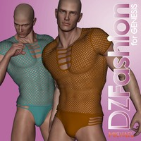 DZ NetMesh for Genesis 3D Figure Essentials dzheng