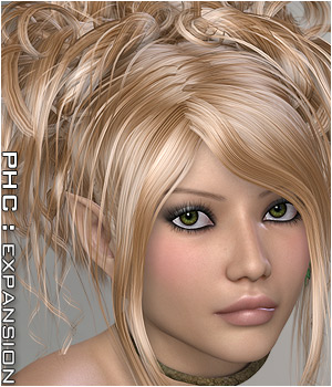 PHC: Adeline Hair Themed Hair P3D-Art