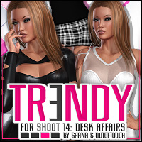 Trendy for SHOOT 14: Desk Affairs 3D Figure Assets ShanasSoulmate