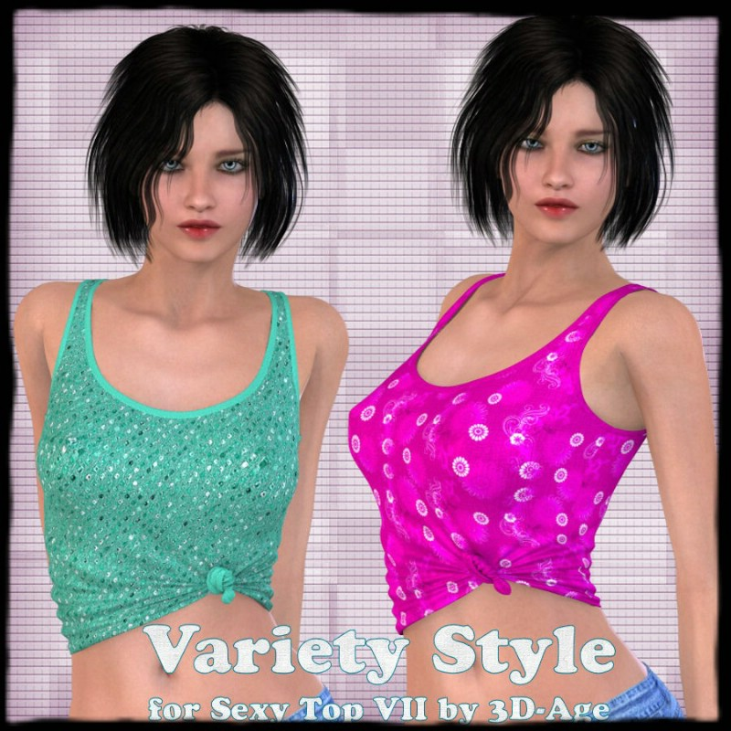 Variety Style for Sexy Top VII