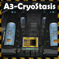 Ship Elements A3 - CryoStasis 3D Models 3D Figure Assets 3-d-c