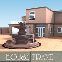 House Frame 3D Models TruForm
