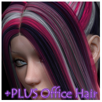 PLUS for Office Hair 3D Figure Essentials nikisatez