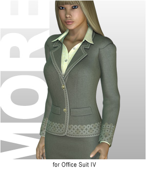 MORE Textures & Styles for Office Suit IV 3D Models 3D Figure Assets motif