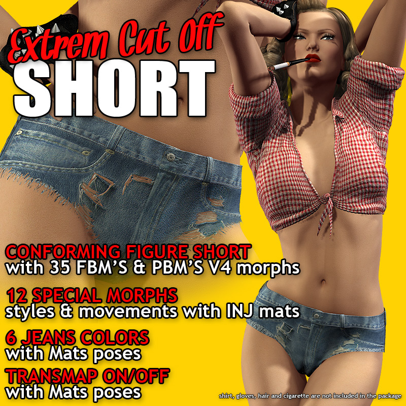 Extrem CutOff Short