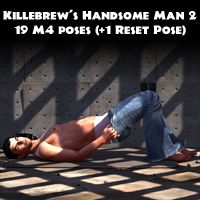 Killebrew's Handsome Man 2 3D Figure Assets Killebrew